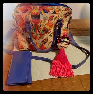 Hand made Mexican Purse